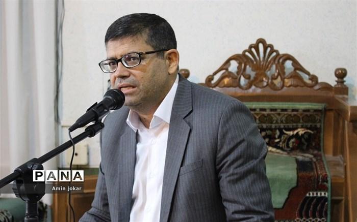 آیین تودیع و معارفه معاون پرورشی و فرهنگی ادارهکل آموزش و پرورش فارس