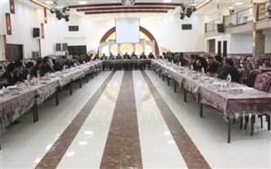 کارشناسان آموزش متوسطه استان در زارچ گردهم آمدند