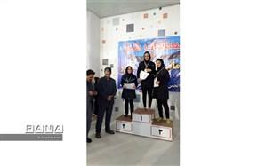 کسب مدال نقره توسط کارمند راه و شهرسازی خراسان شمالی در مسابقات شنا قهرمانی بانوان کارگر کشور