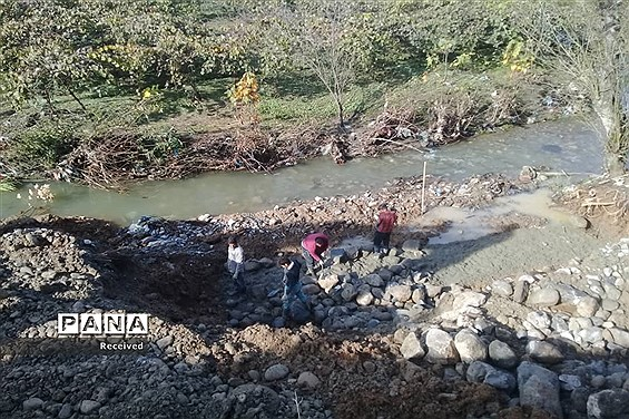 بازدید مسئولان استانی از روند اجرای پروژههای حوادثی غرب مازندران