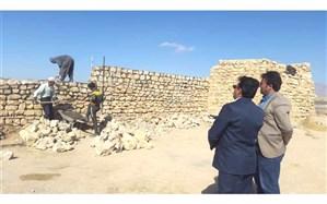 مرمت قلعه تاریخی اس پی آر شهرستان نیریز، با اعتبار 2 میلیاردو 300 میلیون ریال آغاز شد