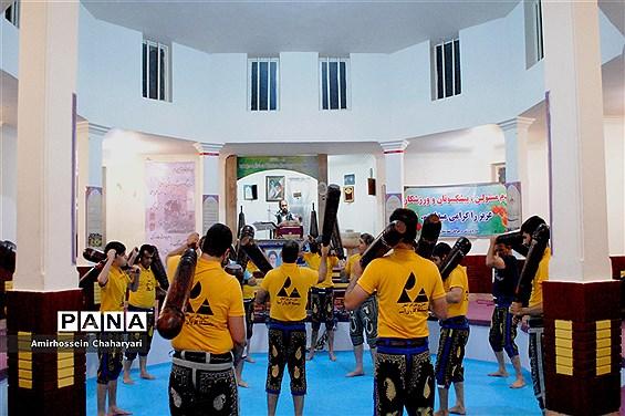 ورزش زورخانهای در تایباد