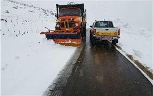 بارش برف و باران در استانهای غربی کشور