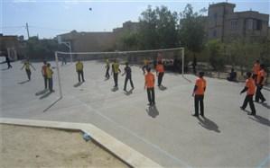 برگزاری المپیاد ورزشی درون مدرسه ای در دبیرستان آیت الله طالقانی زارچ