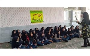 اجرای طرح شادانه ویژه دانش آموزان متوسطه اول در بافق