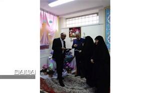 برگزاری مسابقات قصه گویی فرهنگیان منطقه ۴