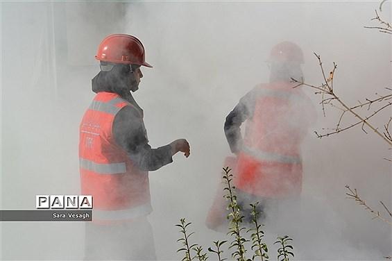 برگزاری مانور زلزله درشهریار