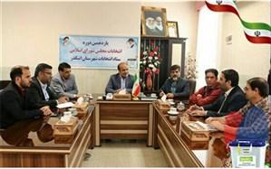 سومین جلسه ستاد انتخابات شهرستان اشکذر برگزار شد