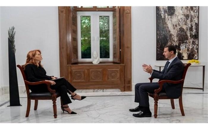 اسد: از دیدار با اردوغان بیزارم/ اعتراضات لبنان اگر درباره اصلاحات باشد، مثبت است