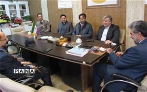هیات رئیسه شورای اسلامی و شهردار کمالشهر با مدیر آموزش و پرورش ناحیه 4 کرج دیدار کردند