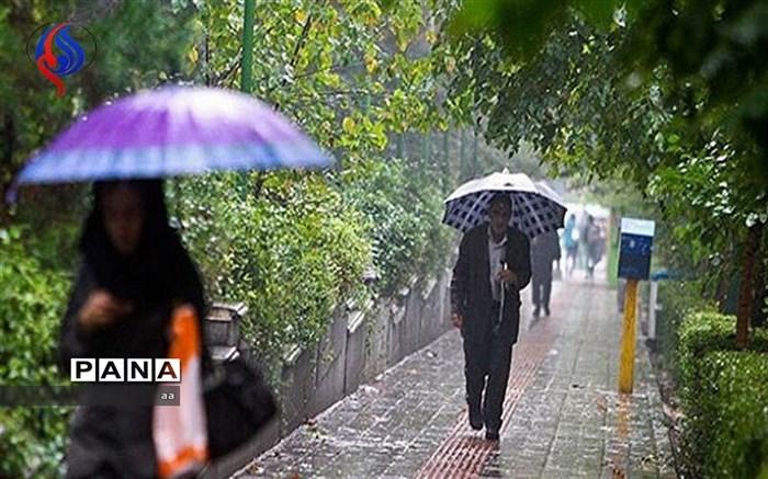 بارش باران در لرستان
