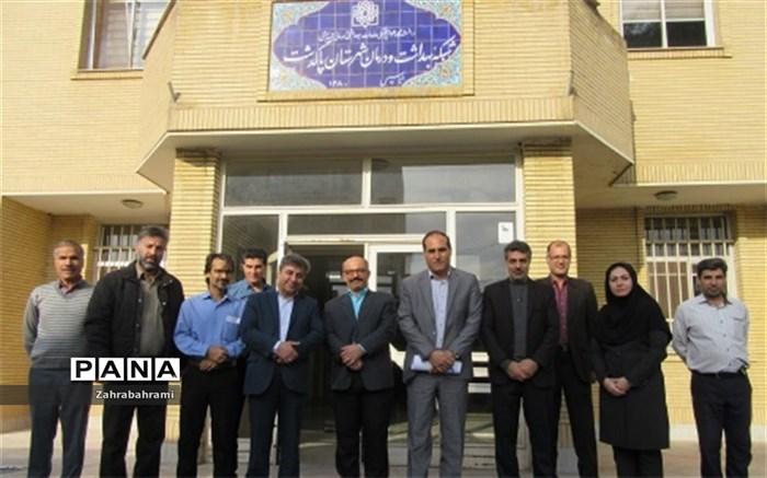 بازدید معاون امور بهداشتی دانشگاه شهید بهشتی از شبکه بهداشت و درمان پاکدشت