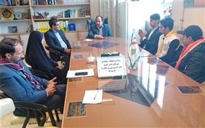 انتخابات شورای دانش آموزی مرحله منطقه ای جلگه رخ برگزار شد