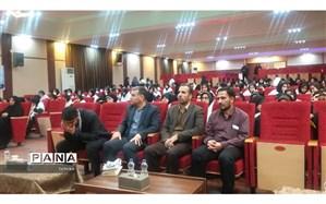 بدرقه  اولین گروه  دانش آموزان اعزامی منطقه 13 به اردوی  راهیان نور