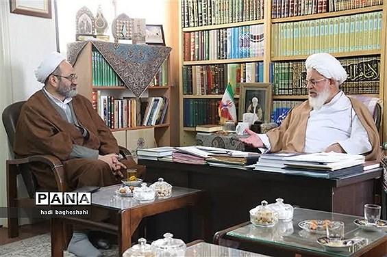 دیدار معاون وزیر آموزش و پرورش با نماینده ولی فقیه و امام جمعه یزد