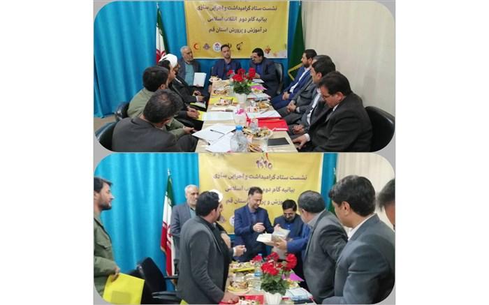 تشکیل اولین جلسه دبیرخانه گام دوم انقلاب استان قم