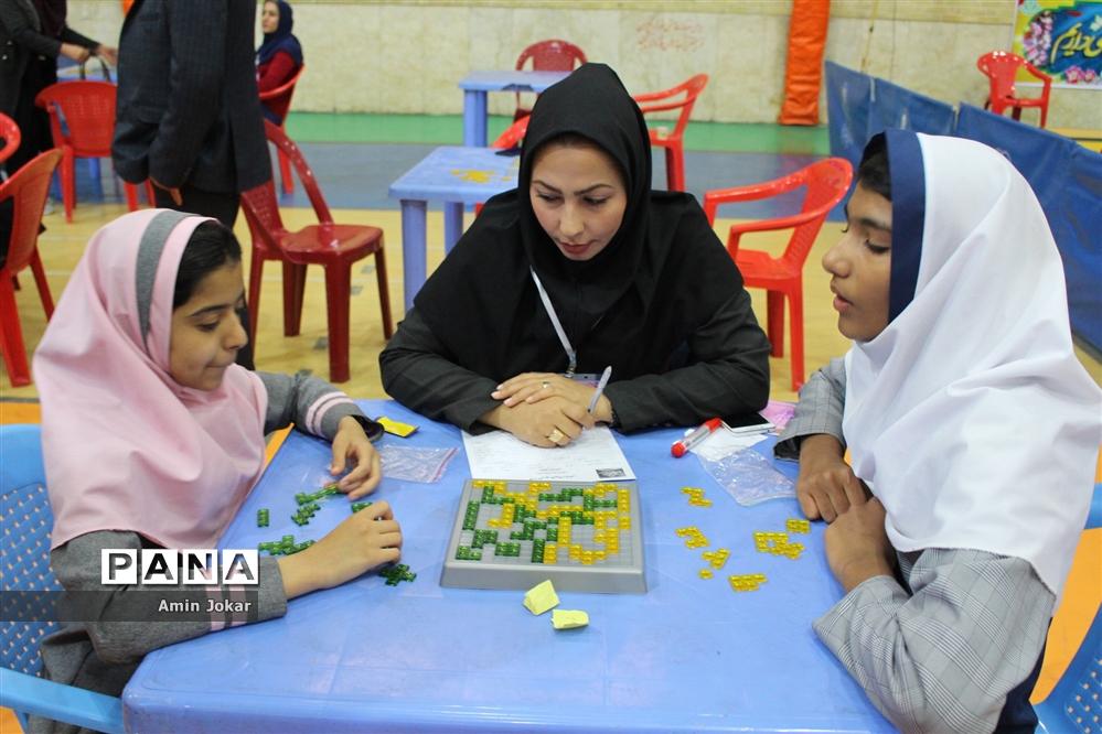 مسابقات بازیهای فکری، آموزشی و سرگرمی رویش ناحیه 4 شیراز