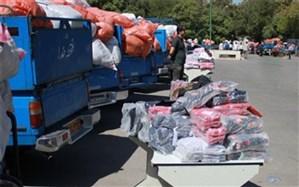 محموله ۲.۵ میلیارد ریالی پوشاک و کفش قاچاق در یزد کشف شد