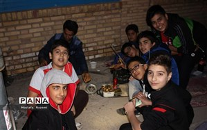 برگزاری اردوی درون مدرسه ای آموزشگاه پسرانه صدرا بافق