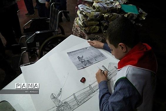 همایش روز جهانی معلولان کانون تربیتی رضوان در محمودآباد