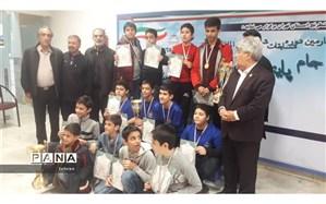 کسب مقام سوم شطرنج توسط دانش آموزان منطقه 13 شهرتهران
