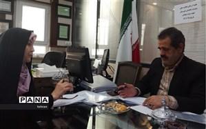 کلاهی از طرح نظارت جامع حوزه سنجش آموزش و پرورش منطقه 7 بازدید کرد