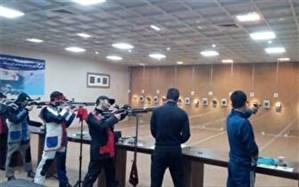 70 ورزشکار در مسابقات رنکینگ تیر اندازی  البرز با هم به رقابت پرداختند