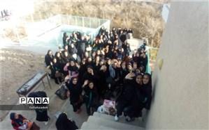 برگزاری اردوی درون منطقه ای دبیرستان سیدالشهدا ابرکوه