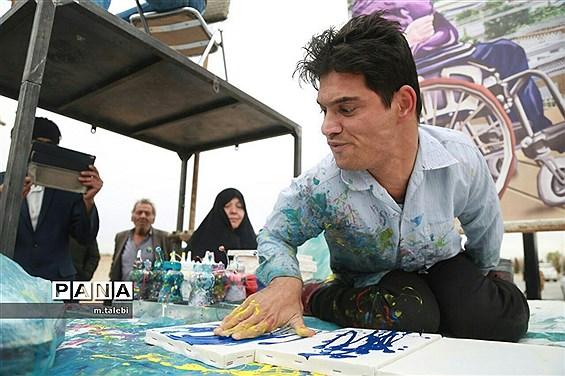 گردهمایی بزرگ جانبازان و معلولین استان یزد