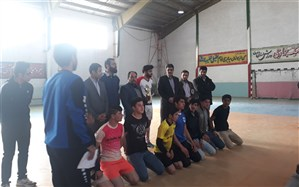 تیم های فوتسال نسر قهرمان مسابقات منطقه رخ شدند
