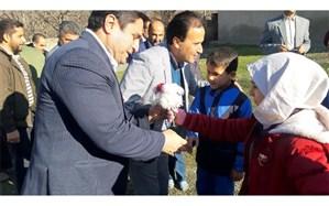 کودکان روستاهای هلیمند و بندبن بازگشایی دبستانشان را جشن گرفتند