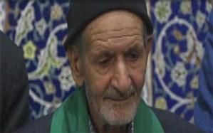 تجلیل از پیرغلام حسینی در رضوانشهر