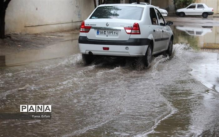 بارندگی امروز دوشنبه در بوشهر