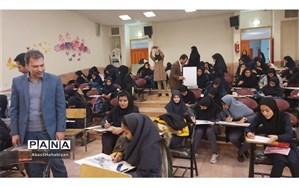 برگزاری مسابقه حضوری هنرهای  دستی وتجسمی در کاشمر