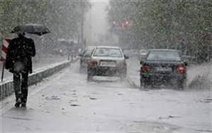 اوج فعالیت سامانه بارشی در ارتفاعات و جنوب استان یزد