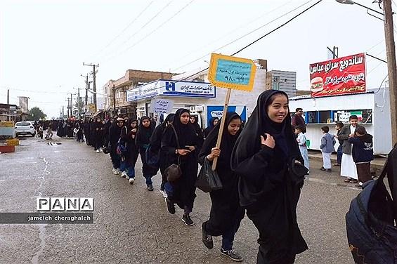 جشنواره مسابقات دانشآموزی قرآن عترت و نمازمنطقه شاوور