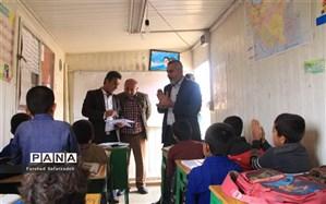 بازدید مدیرآموزش و پرورش عشایر خوزستان از مدارس عشایری باغملک