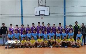 پایان رقابت بسکتبالیست های دانش آموز درناحیه یک یزد