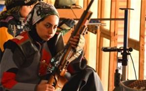 حضور دختر تیرانداز بوشهری در اردوی تیم ملی