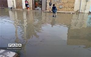 معاون وزیر نیرو خبر داد: برای جمعآوری آبهای سطحی اهواز کاری نشده است