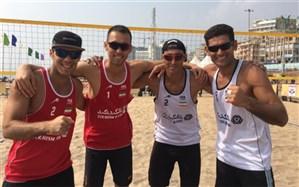 والیبال ساحلی ایران به مرحله نهایی انتخابی المپیک رسید