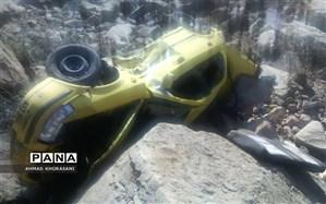 یک کشته و ۴ زخمی درحادثه واژگونی  خودرو در لالی