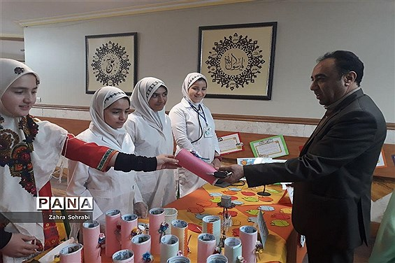 افتتاحیه طرح سفیران سلامت درآموزشگاه شاهد فاطمه الزهرا(س) اسلامشهر
