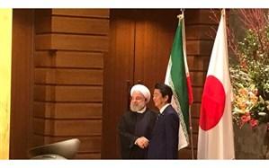 استقبال رسمی نخست وزیر ژاپن از رئیس جمهوری ایران