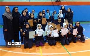 برگزاری مسابقات بسکتبال و ورزش های بومی-محلی دختران منطقه 11
