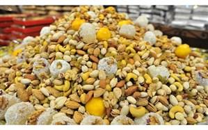 ثبات نسبی قیمت میوه و تنقلات در  سفره یلدا