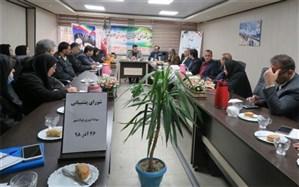 شورای پشتیبانی سوادآموزی منطقه فولادشهر برگزار شد