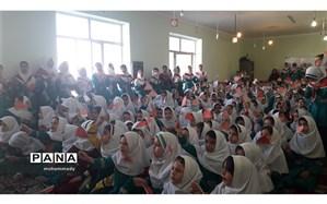 برگزاری مراسم وپژه شب یلدا در آموزشگاه ابتدایی دخترانه  دکتر حسابی ناحیه ۲اردبیل