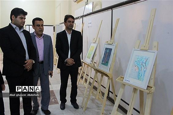 نمایشگاه نماز در آئین هنر در بوشهر