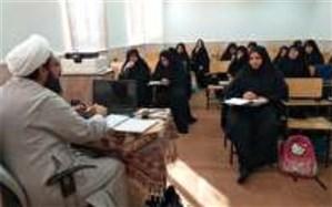 مهارت افزایی مبلغین طرح امین مدارس در بافق